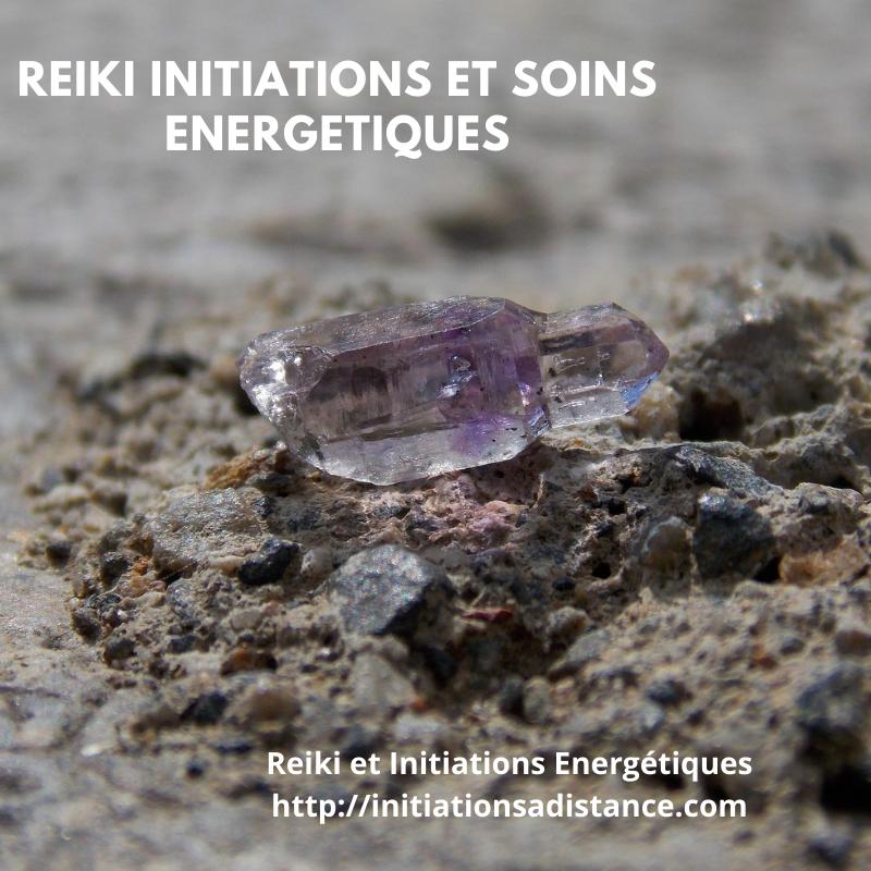 Nicole Lacide, Reiki initiations et soins énergétiques
